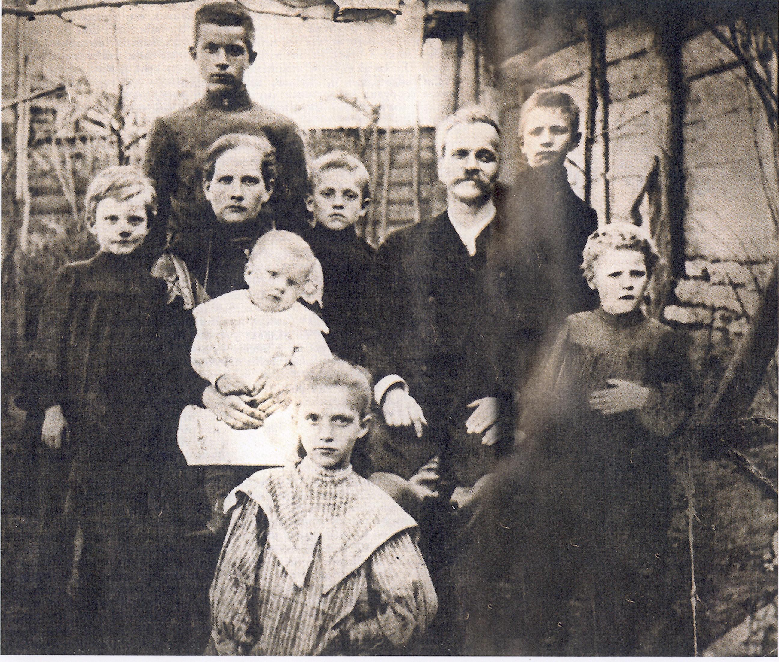 семья до рождения младших детей