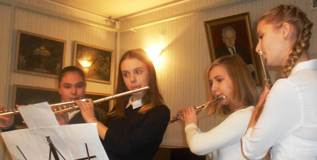 квартет флейтисток